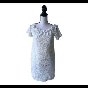 A.L.C. White Eyelet Dress / Size 2